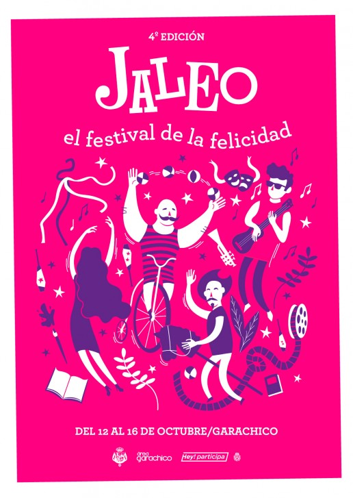 Diseño Cartel del Festival Jaleo